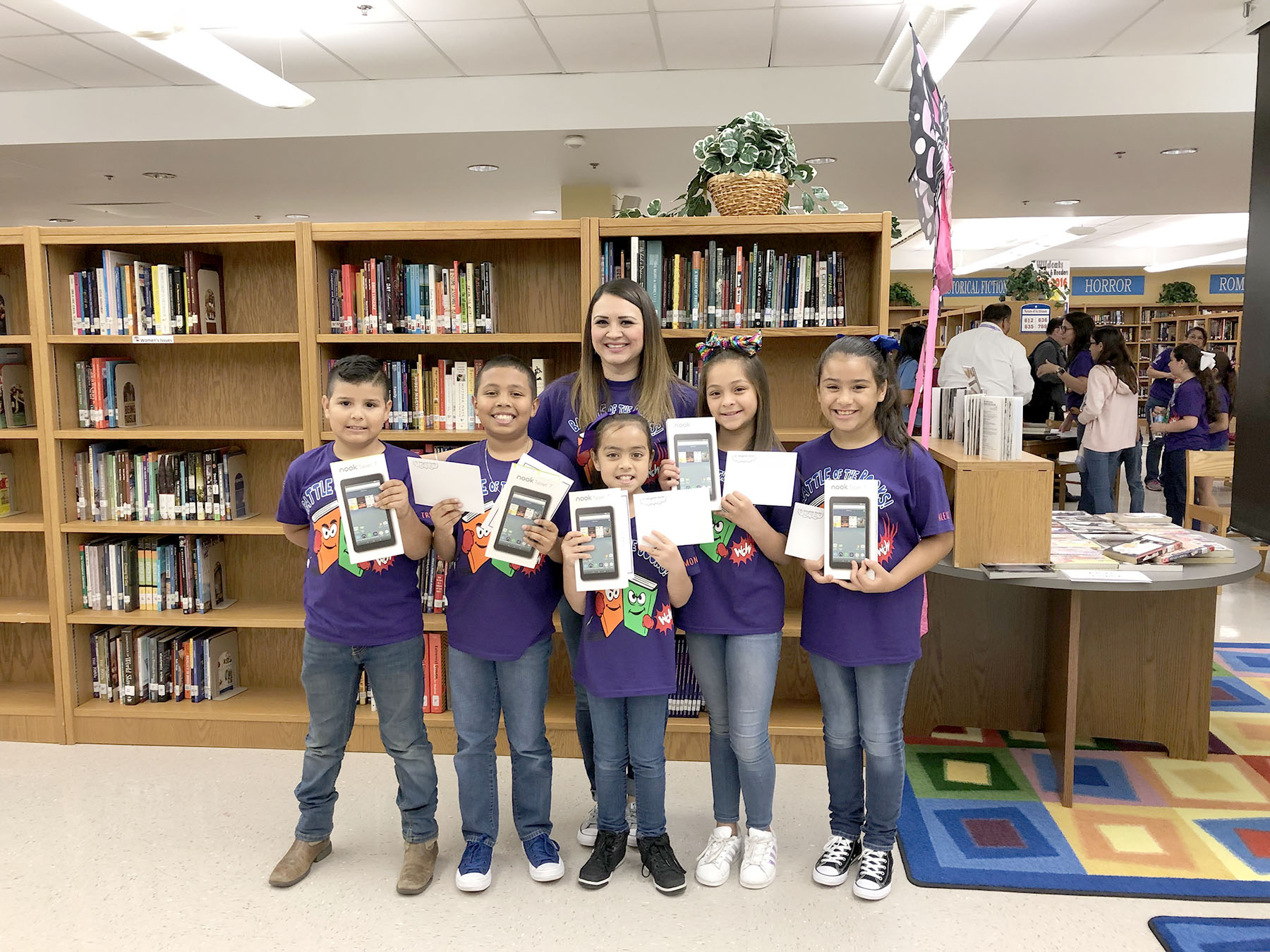 Elementary schools battle for book supremacy