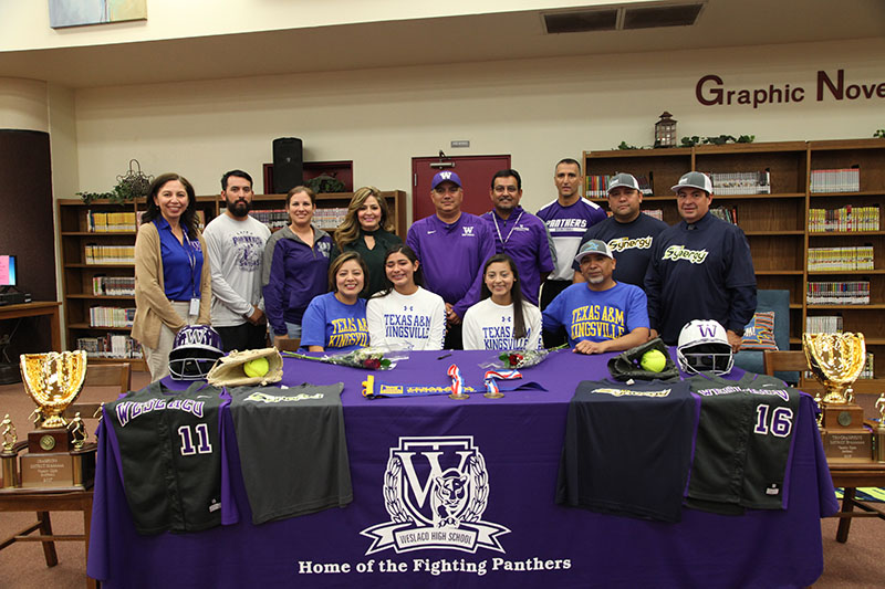WHS twins sign up for Texas A&M Kingsville
