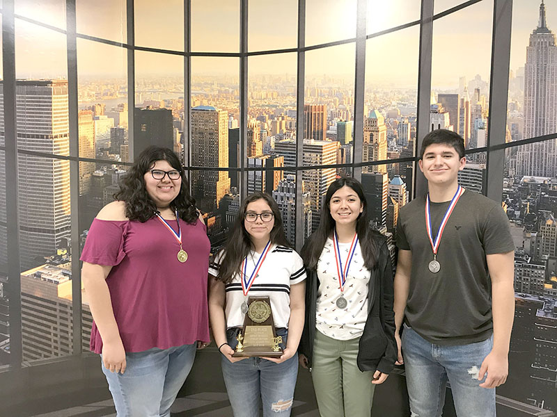 WEHS wins top awards at District UIL Meet